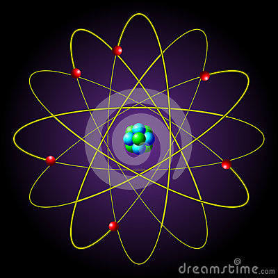 The symbol of the atom