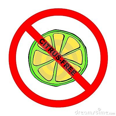 Symbol: Citrus-Free Text