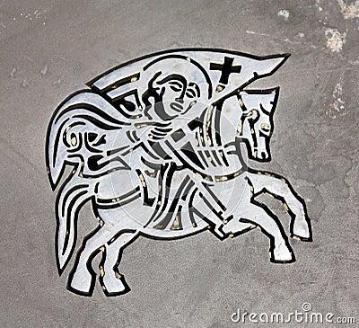 Symbol of city s Zadar