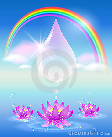 Symbol of clean water