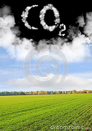 Symbol CO2