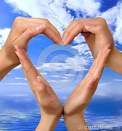 Symbol för 4 hjärta