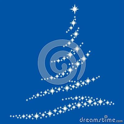 Symbol of a fir-tree