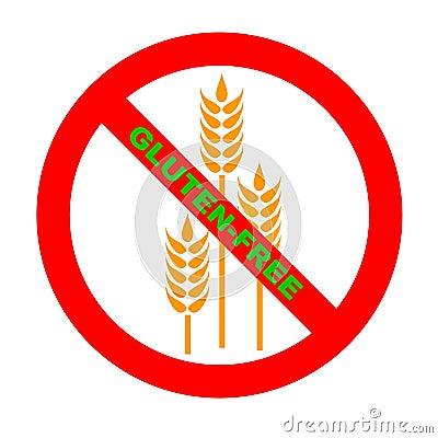 Symbol: GF Gluten-Free Text