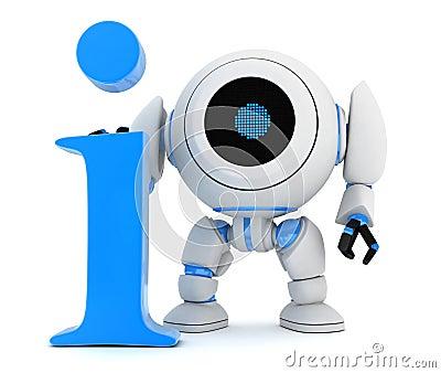 Symbol info and robot