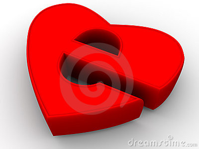 Symbol Of Internet As Heart Royalty Free Stock Photo - Image: 3367835