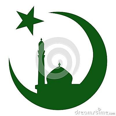 Symbol Of Islam And Mosque, Ramadan. Vector Eps10 Royalty ...