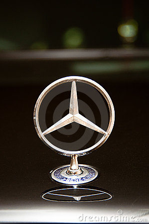 The symbol of luxury editorial image image 19246890 for Mercedes benz stock symbol