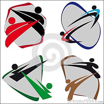 Symbol Martial arts