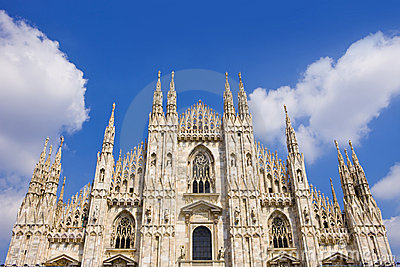 The symbol of Milan