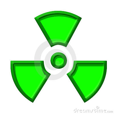 Symbol Of Nuclear Danger Royalty Free Stock Photos - Image ...