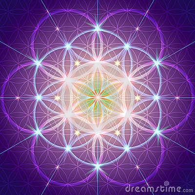 Free Symbol Of Sacred Geometry Royalty Free Stock Photography - 68143367