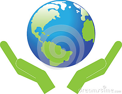 Symbol, The Planet Earth. Royalty Free Stock Photo - Image ...