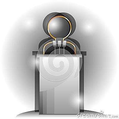 Symbol of speaker