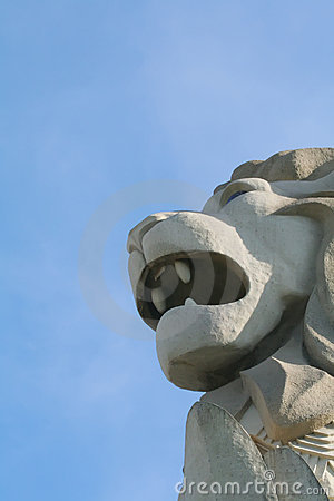 Symbol of Strength in the Lion