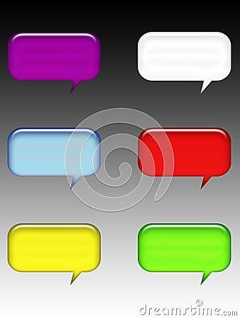Free Symbol Talk Stock Photography - 8190062