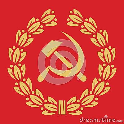 Symbol of USSR - hamme