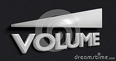Symbol of the volume