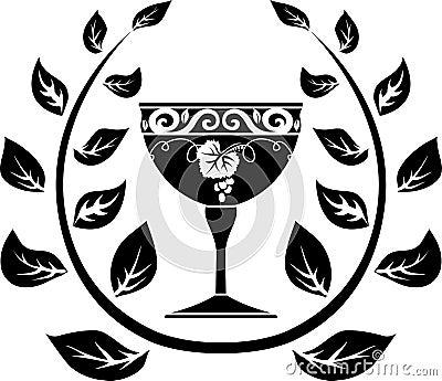 Symbol of wine
