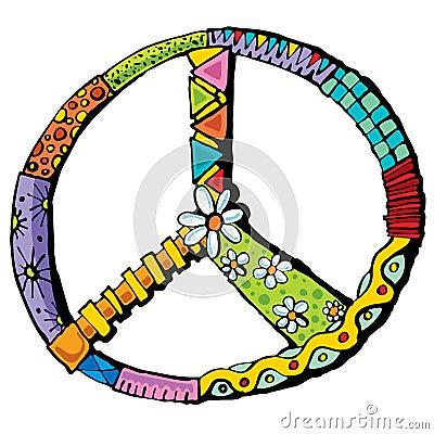 Symbol of the world an illustration