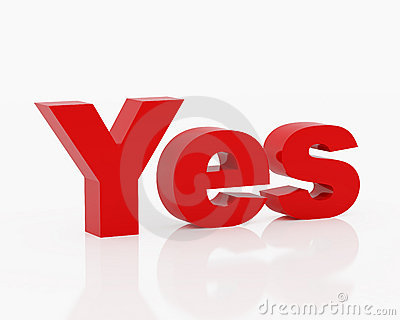 Symbol yes