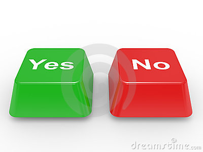 Symbol Yes and No