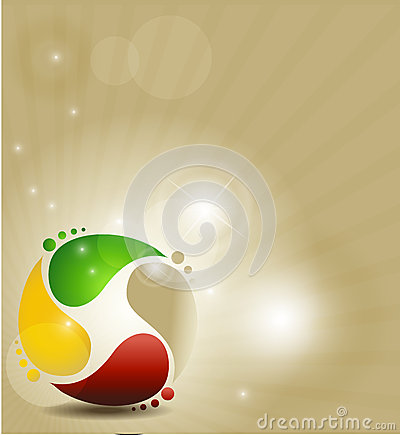Symbole coloré
