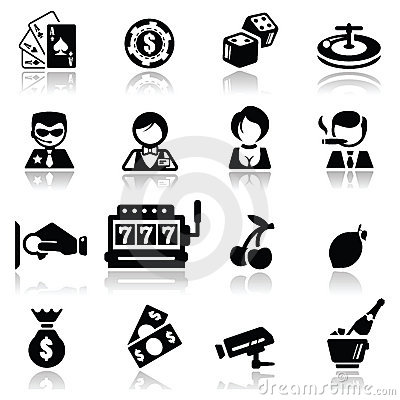 Symboler ställde in kasinot