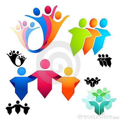 Symboles unis de gens