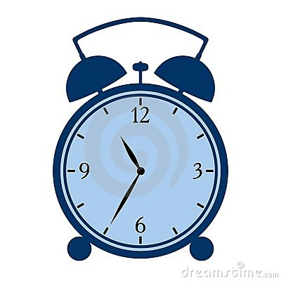 Symbolic alarm clock