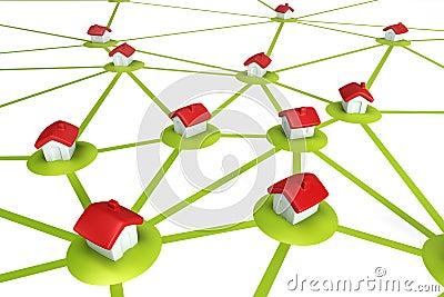 Symbolic settlement network
