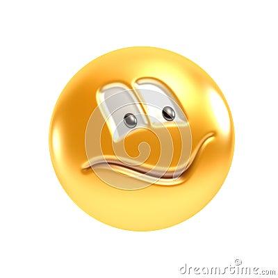 Symbolic smiling face
