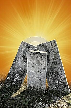 Symbolic tombstones