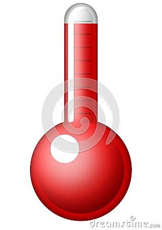 Symbolischer Thermometer