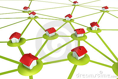 Symbolisk nätverksbosättning