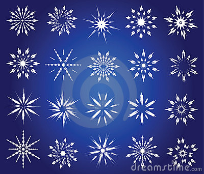 Symboliska snowflakes