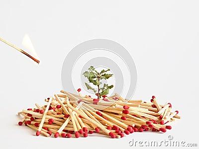 Symbolism fire danger