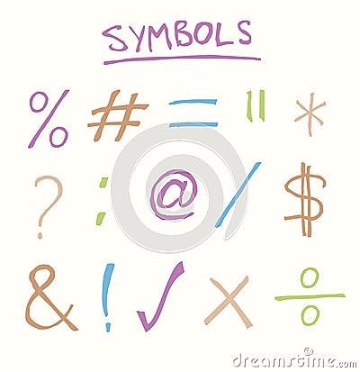 Free Symbols Royalty Free Stock Images - 30215839