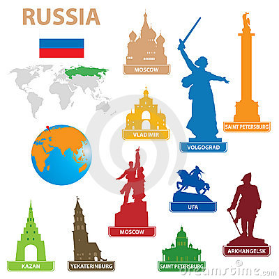 Symbols city to Russia