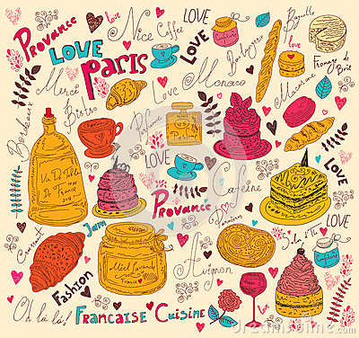 Symbols of food France