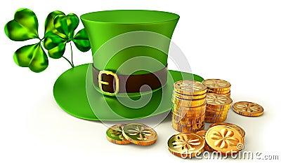 Symbols of Patrick day