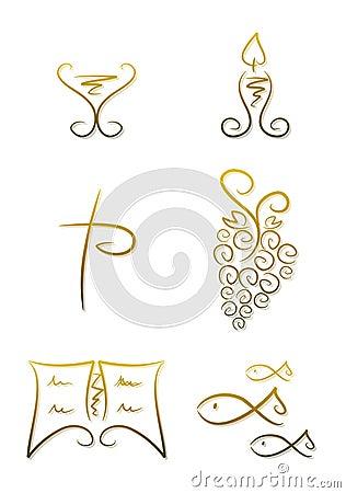 Symbols for religion/christianity