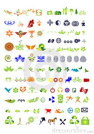 Free Symbols & Signs Collection - Vector Royalty Free Stock Photos - 6668038