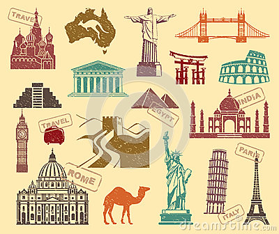 Symbols of travel