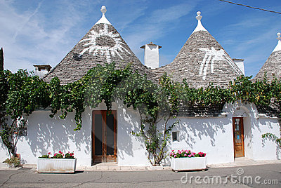 Symbols on Trulli Roofs, Puglia