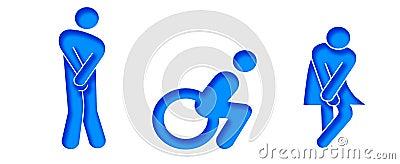 Symbols for wc