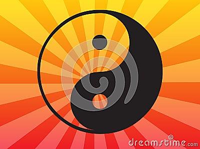 Symbolu Yang yin