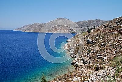 Symi coastline, Greece