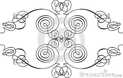 Symmetric Calligraphy Curves