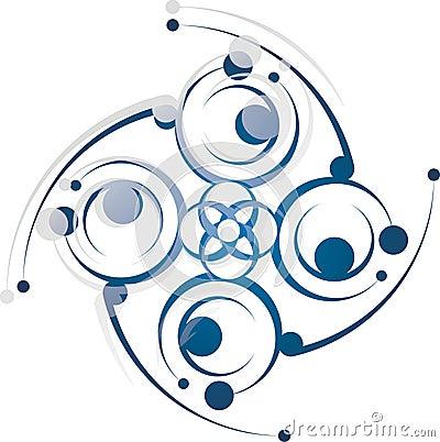 Symmetric ornament 1